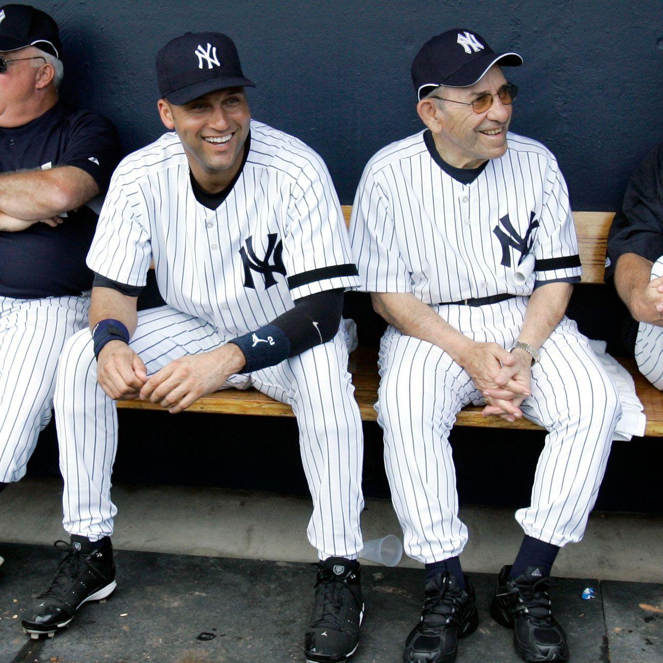 O Connor Berra Jeter Forged Friendship Across Generations New York Yankees Derek Jeter Yogi Berra