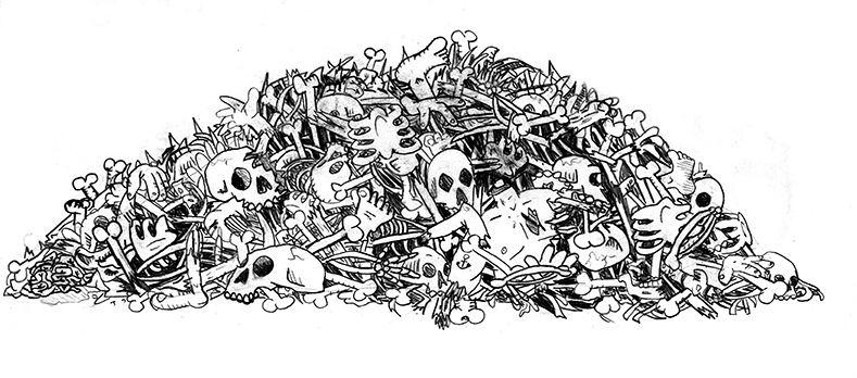 pile of bones - 789×348