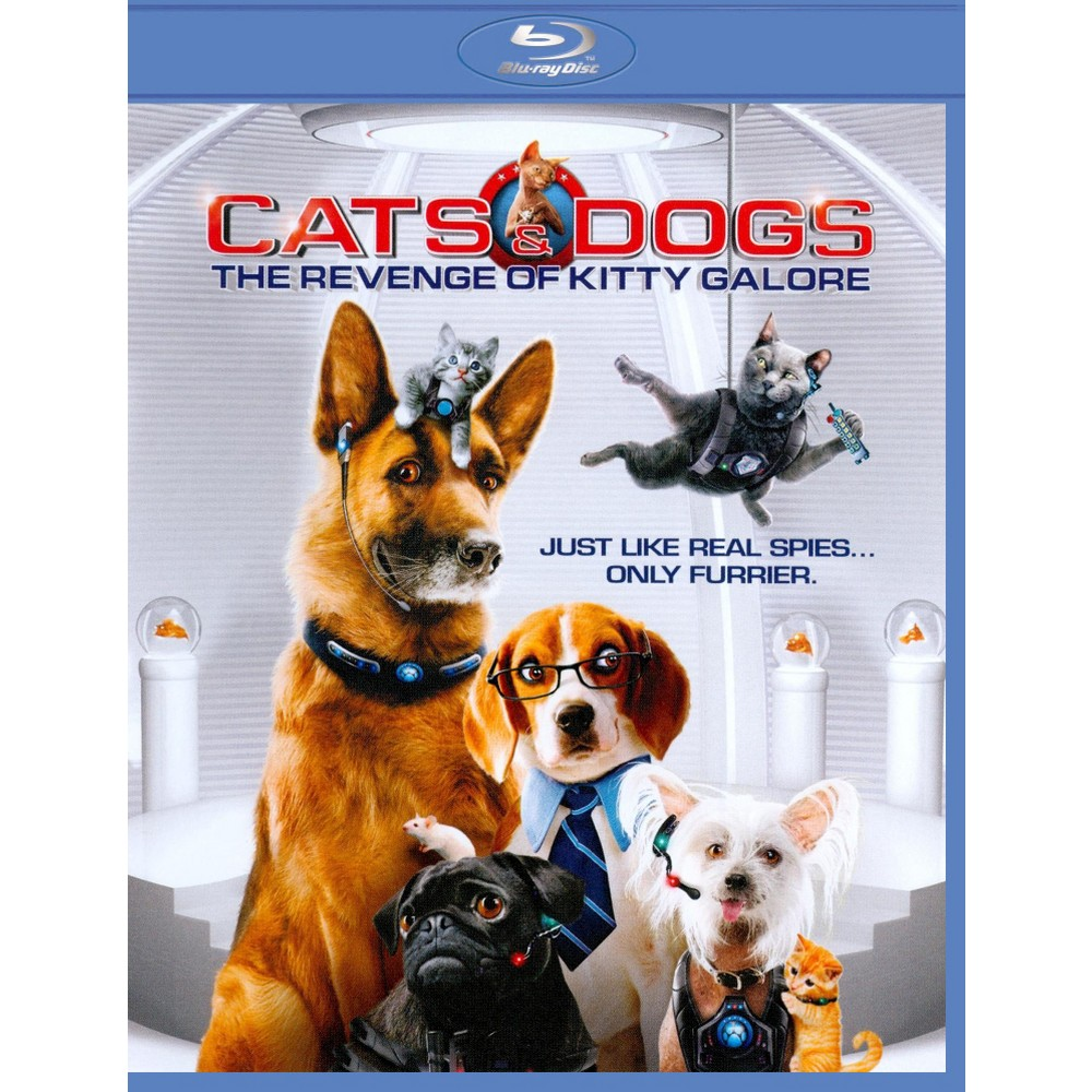 Cats \u0026 Dogs The Revenge of Kitty Galore [2 Discs] [Blu,ray