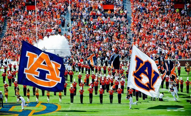 The Auburn Tigers College Football Betting Schedule Analysis Auburn Tigers Football Auburn Football Auburn Tigers
