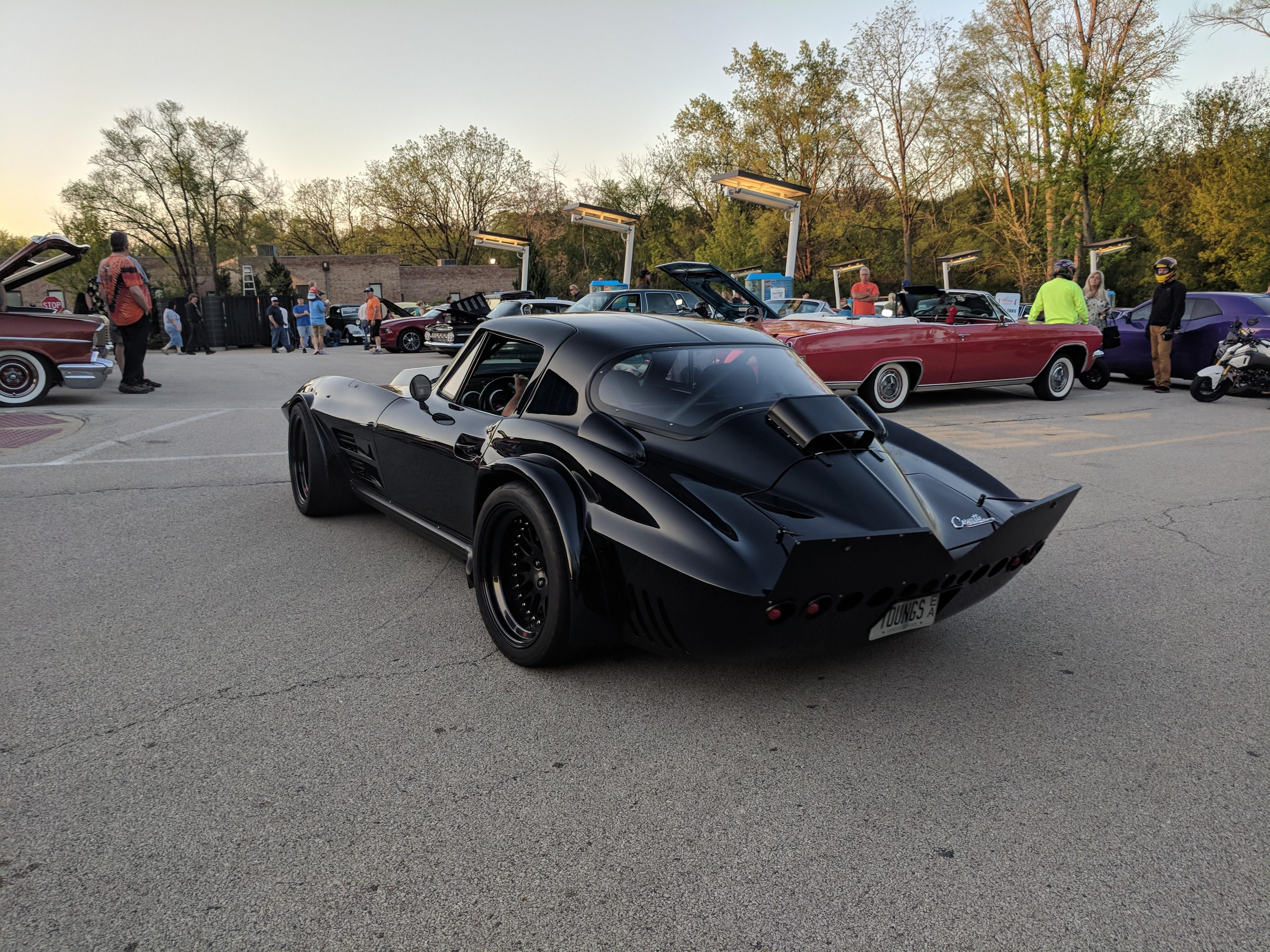 This C2 Widebody Corvette At My Local Car Show 60s Muscle Cars American