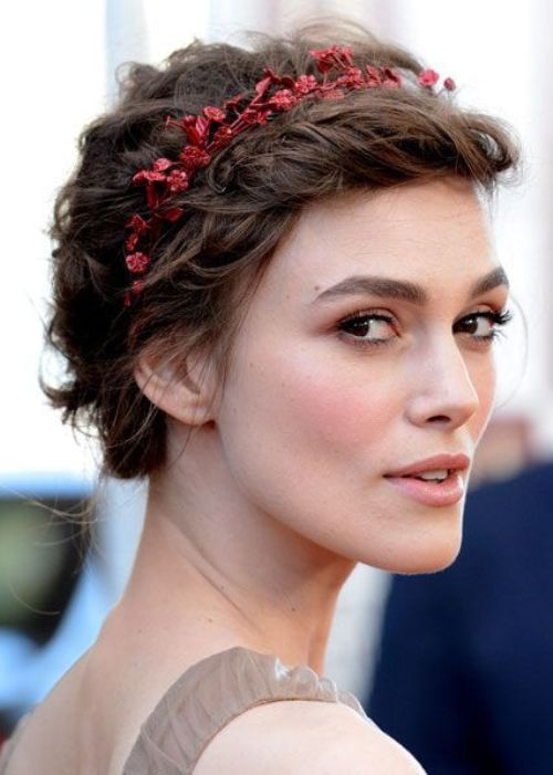 50 Best Updos For Short Hair 02 This One Actually Looks