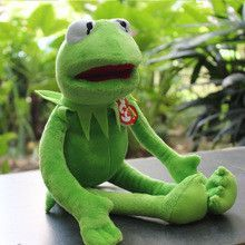 14'' 40cm Kermit plush toys Sesame Street doll animal Kermit Toy plush frog