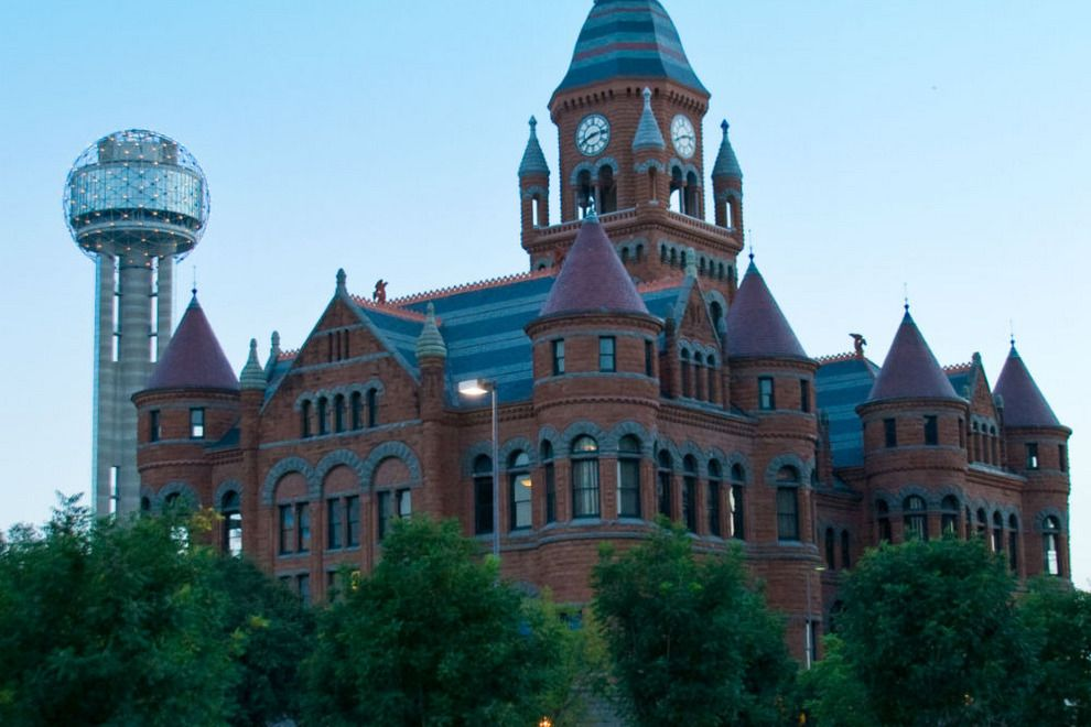 Texas Attractions Por Tourist In Dallas City Usa