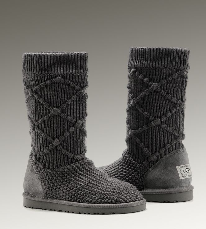 black knit uggs sale