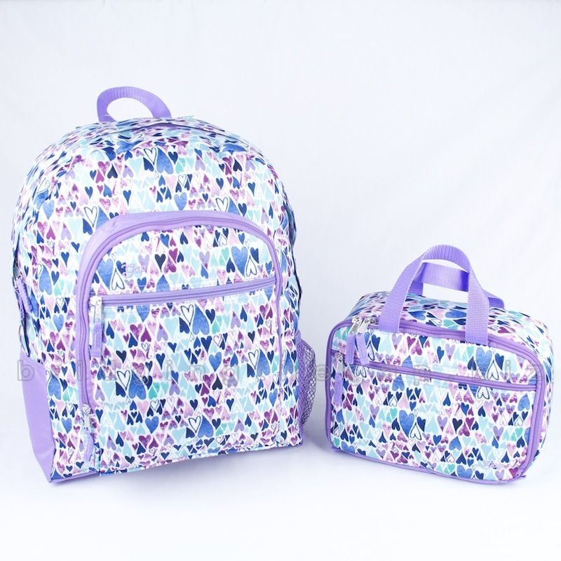 Nwt kids gap girls backpack lunch box bag set | Box bag, Lunch box ...