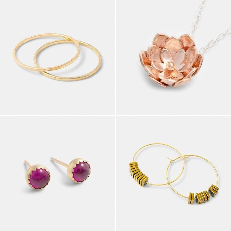9661a8014 Autumn and winter styles: Australian jewellery handmade in sterling silver,  gold and gemstones. Shop in our online jewellery store. #jewelleryonline
