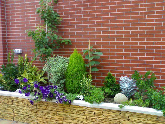 Clic para ampliar ideas for the home in 2018 pinterest for Jardineria exterior con guijarros