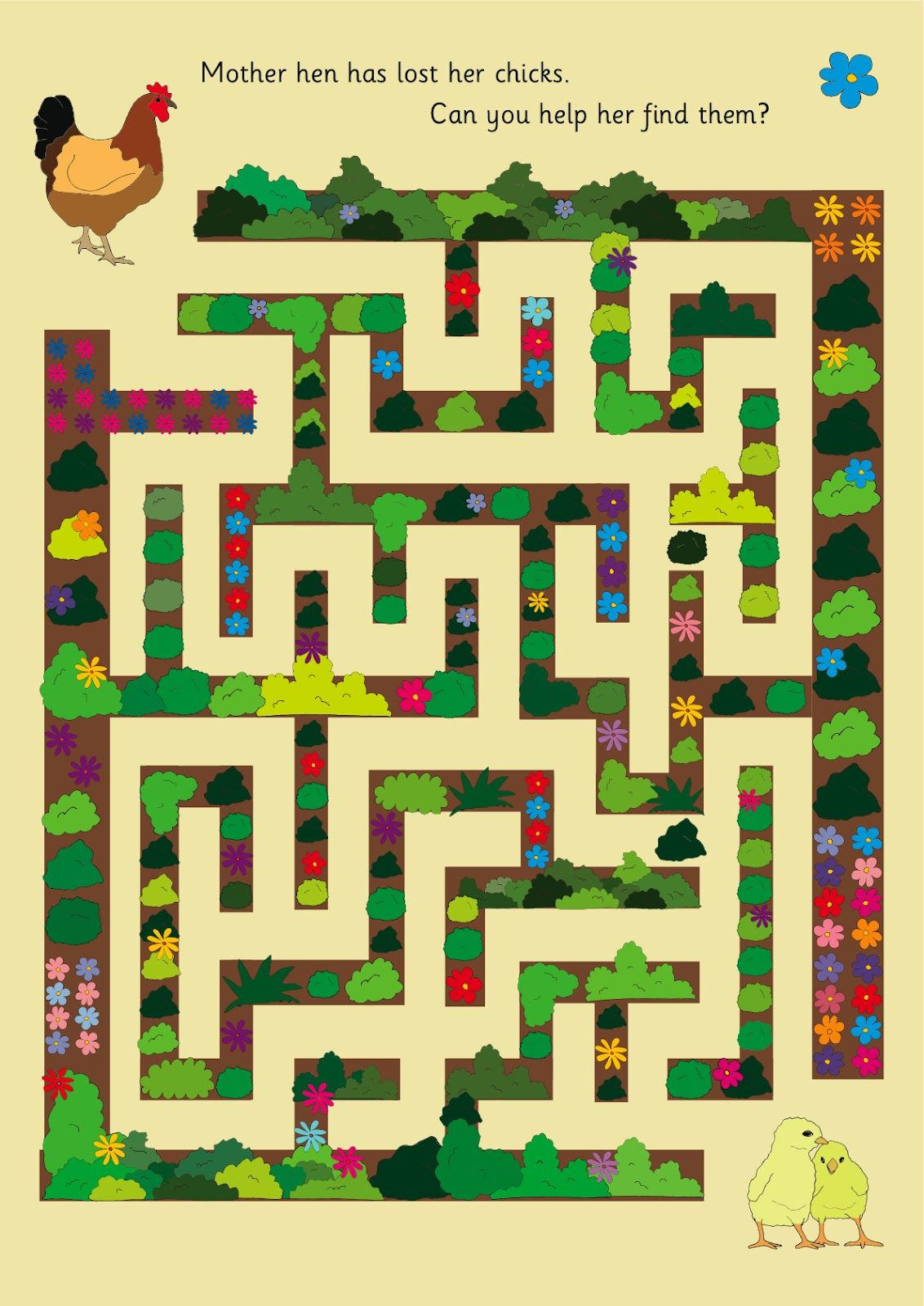 Illustration Maze