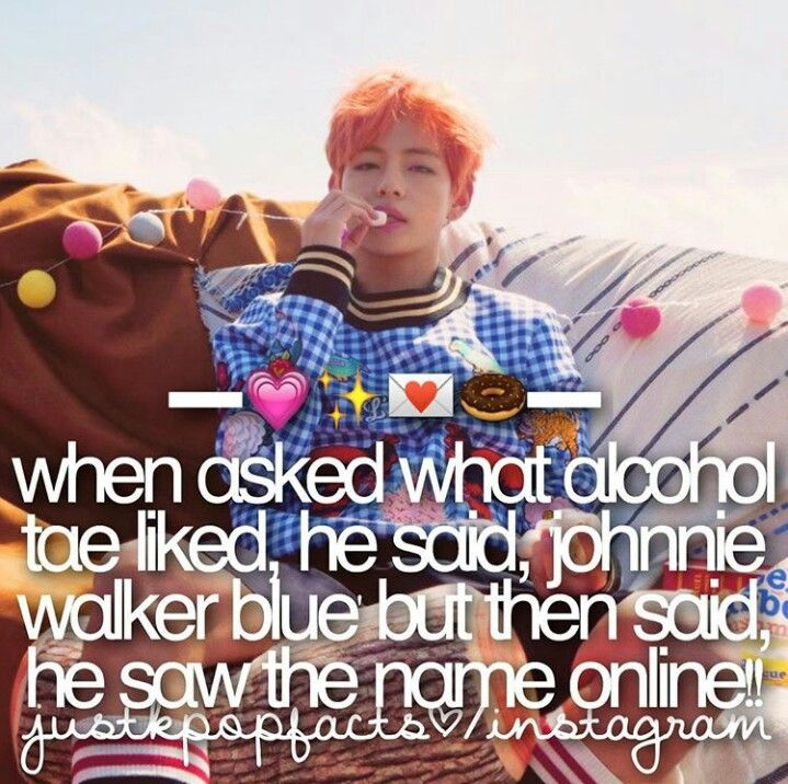 More Information Fan Taehyung Ah What Drink Alcohol Do You Like The Most Tae Johnnie Walker Blue Of Course Fan Wow Tae Actually I Just Saw It Fro