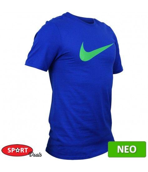 855516e682f Nike μακο ανδρικο μπλουζακι κοντομανικο μπλε | Μπλούζες Μακο | Mens ...