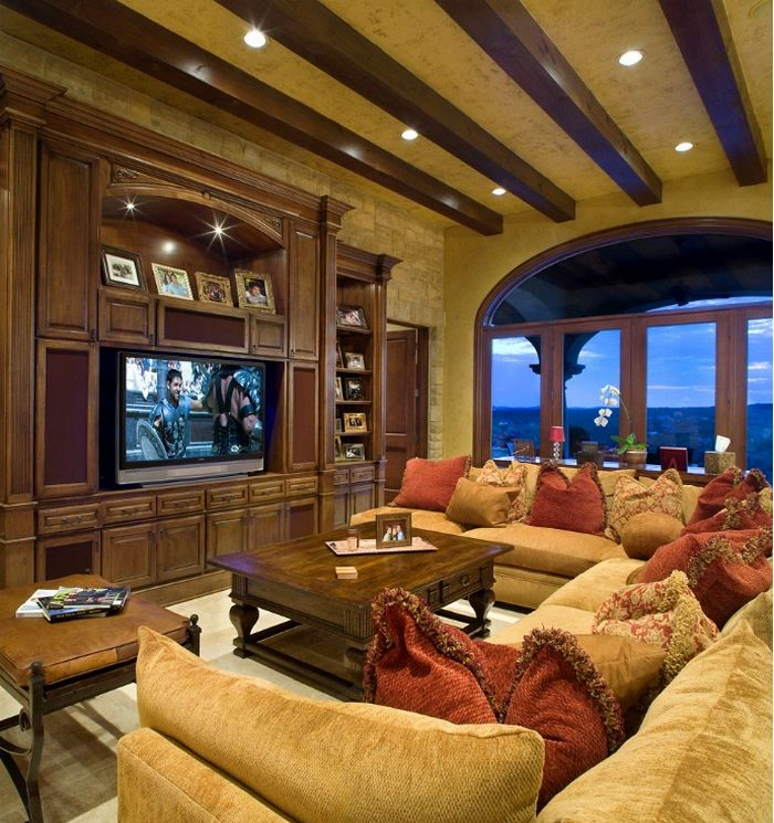 cozy living room #family room