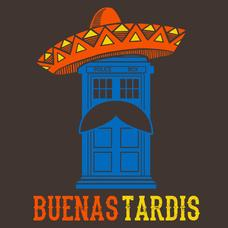 a92fa934ca8c7 Textual Tees: Buenas Tardis   Doctor Who   Doctor who t shirts ...