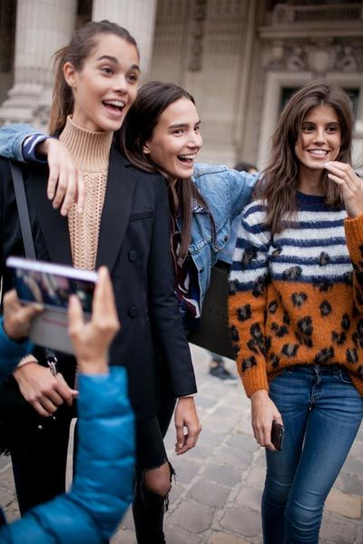 The best street style from Paris Fashion Week - Foto 23