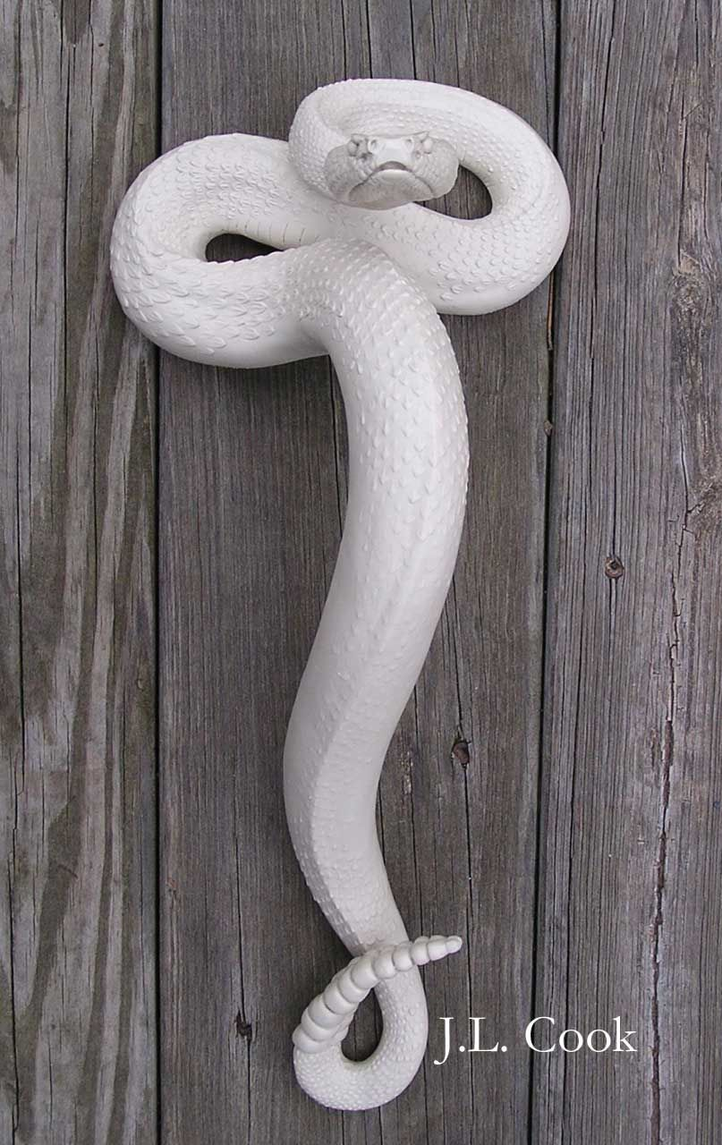 Rattlesnake Door Handle Prop Done For A Million Ways To Die In The West Diy Bottle Crafts Elephant Carving Dream Home Design