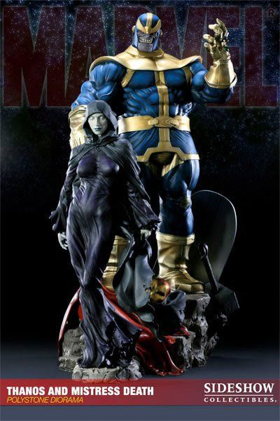 Thanos and Mistress Death - Sideshow Collectibles