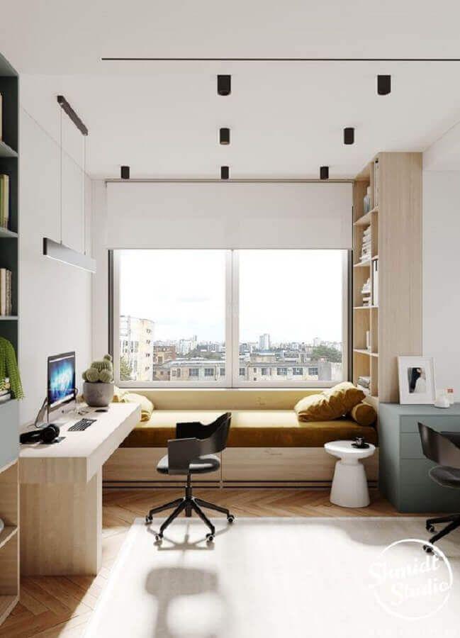 Home Office no Quarto: Como Montar +60 Inspirações