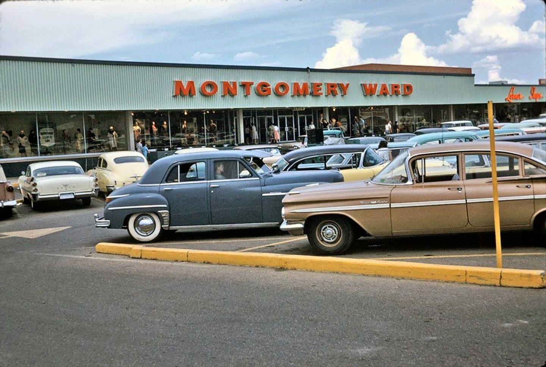 Montgomery Ward, c. 1959. Montgomery ward, Photo, Ward