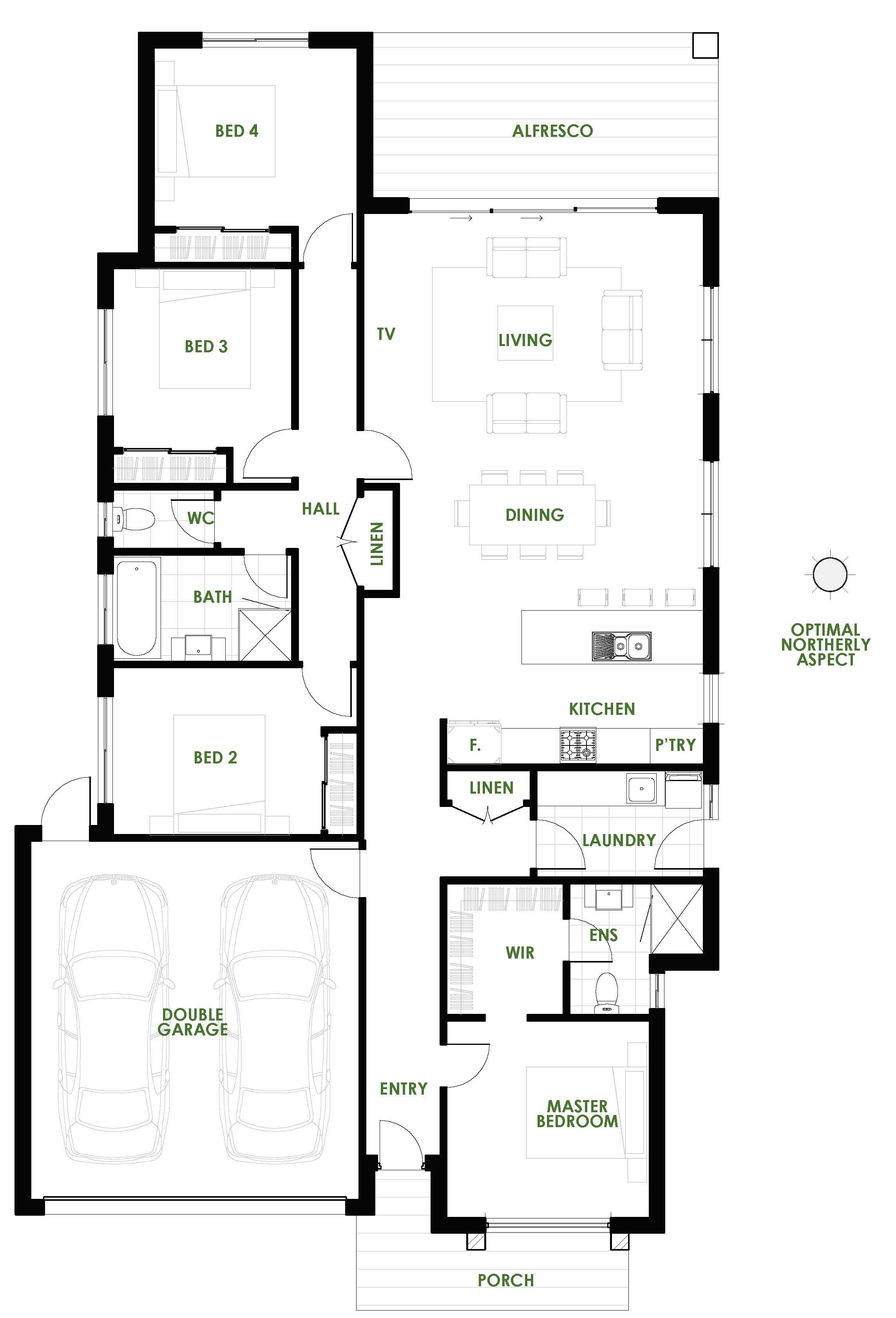 The Burleigh offers the very best in energy efficient home design ...
