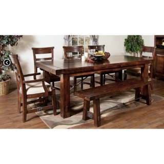 Check Out The Sunny Designs 1316RM Vineyard Extension Table In Rustic  Mahogany Priced At $1,382.50 At Homeclick.com.