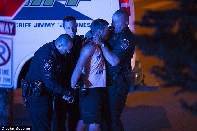 Disturbing Images Show a Cop Choking an Unresisting College Student Until He Falls Unconscious