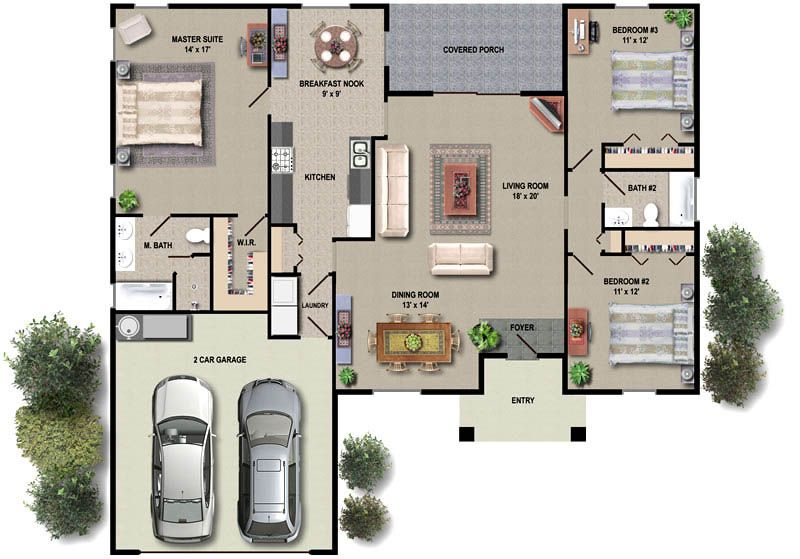 house plans with interior pictures