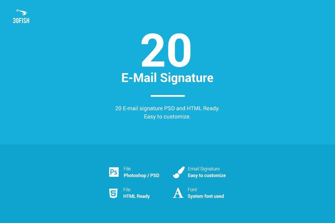 20 E Mail Signature Mail Signature Email Signature Templates Signature