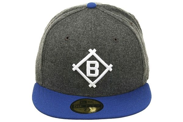 b6ebdf16cf8465 New Era 2Tone Brooklyn Dodgers 1912 Fitted Hat - Flannel, Royal, White