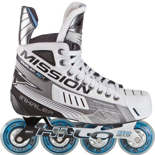 Roller Hockey Skates Mission Inhaler Ac4 Senior Inline Hockey Skates D Read More At The Image Link Inline Skating Inline Hockey Roller Hockey Skates