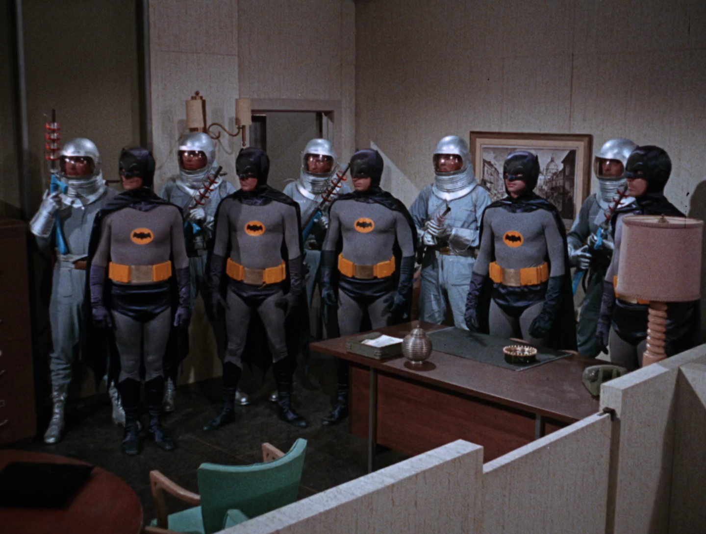 Batman  Episode aired 3 February 1966 Season 1 | Episode 8, Rats Like Cheese