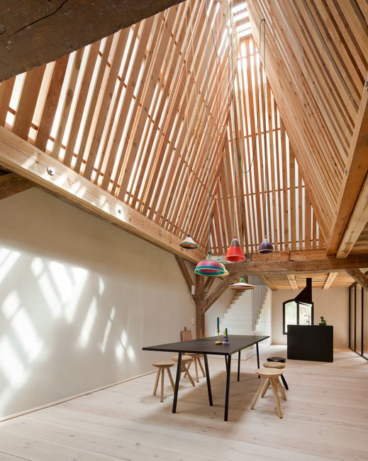 Thomas Kroger Architekt Landhaus Gut Fergitz Uckermark Ceilings