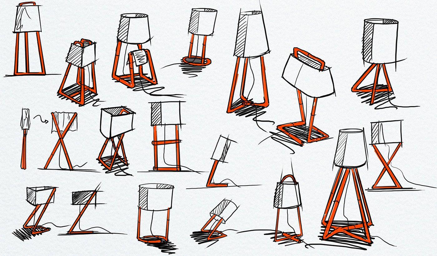 Huevos Floor Lamp For Colours On Behance Disenos De Unas Disenos De Dibujo Diseno Industrial