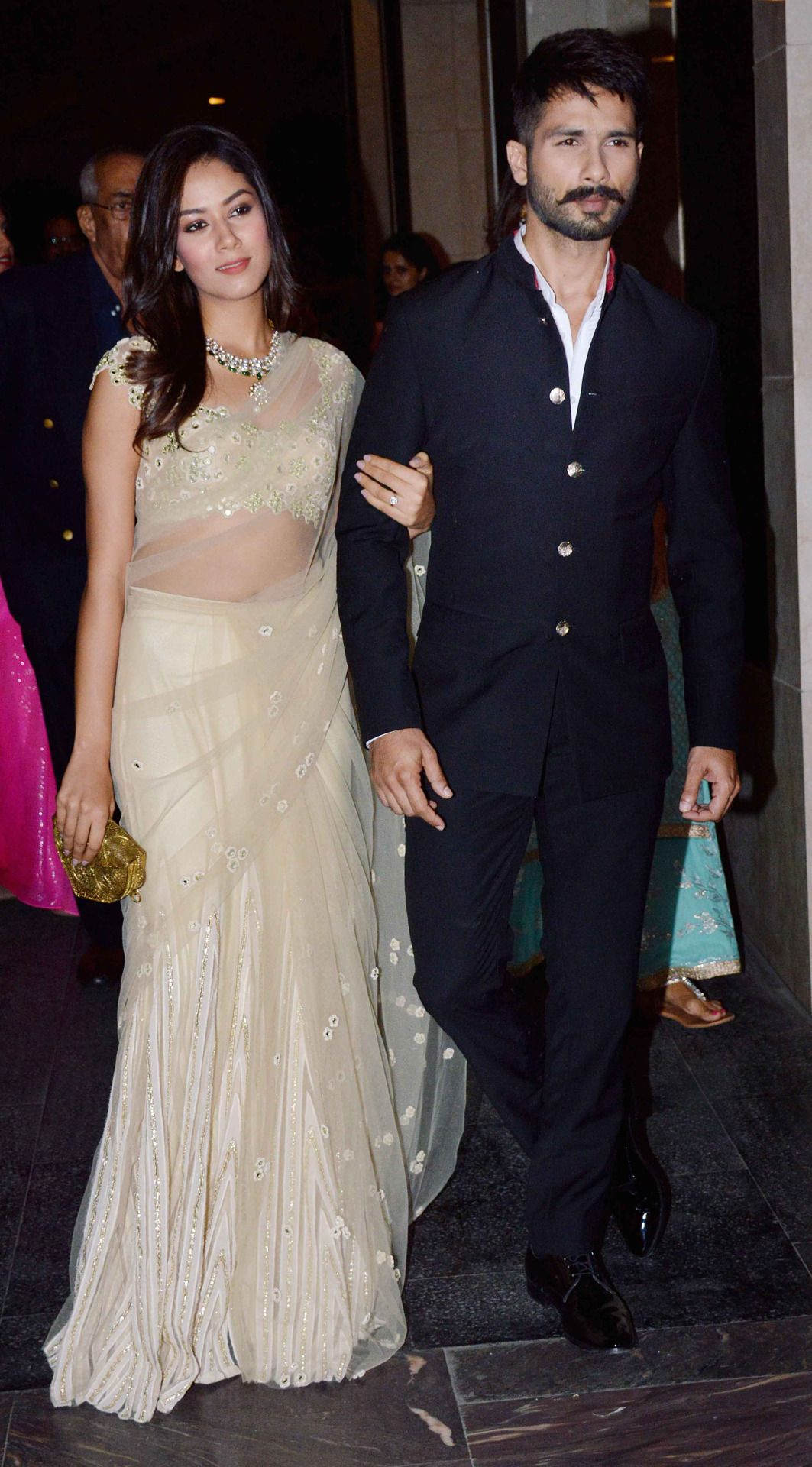 Shahid and Mira look so so cute together! Wedding
