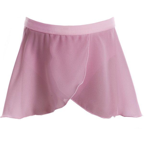 Mock Cross Over Skirt ($24) ❤ liked on Polyvore
