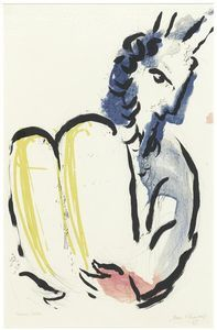 Moses - (Marc Chagall)