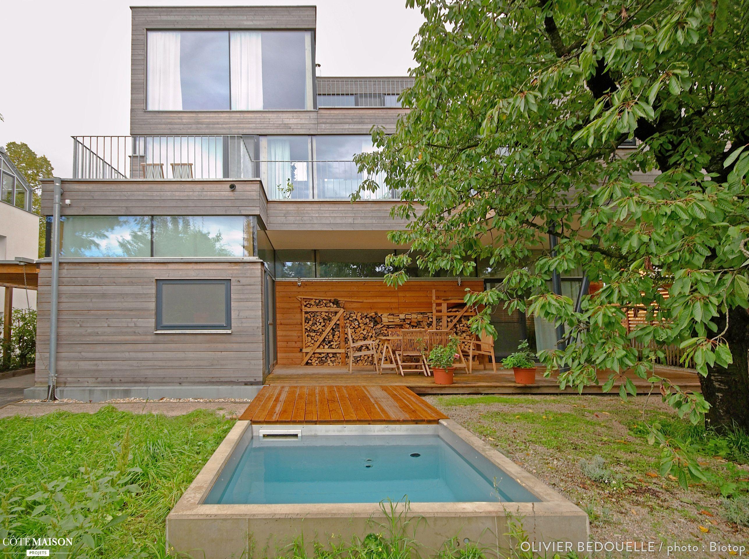 Piscine écologique pour cette maison moderne | Espace extérieur ...