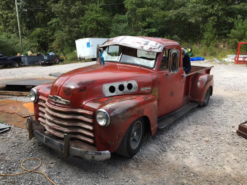Rat Rod shop truck Chevy Advanced Design pickup truck with a unique ...