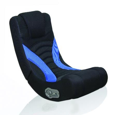 New Levelup Gear Game Chair Design Blue Curve Rocker Gaming
