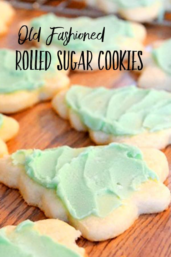 Old Fashioned Rolled Sugar Cookie Recipe | Harbour Breeze Home