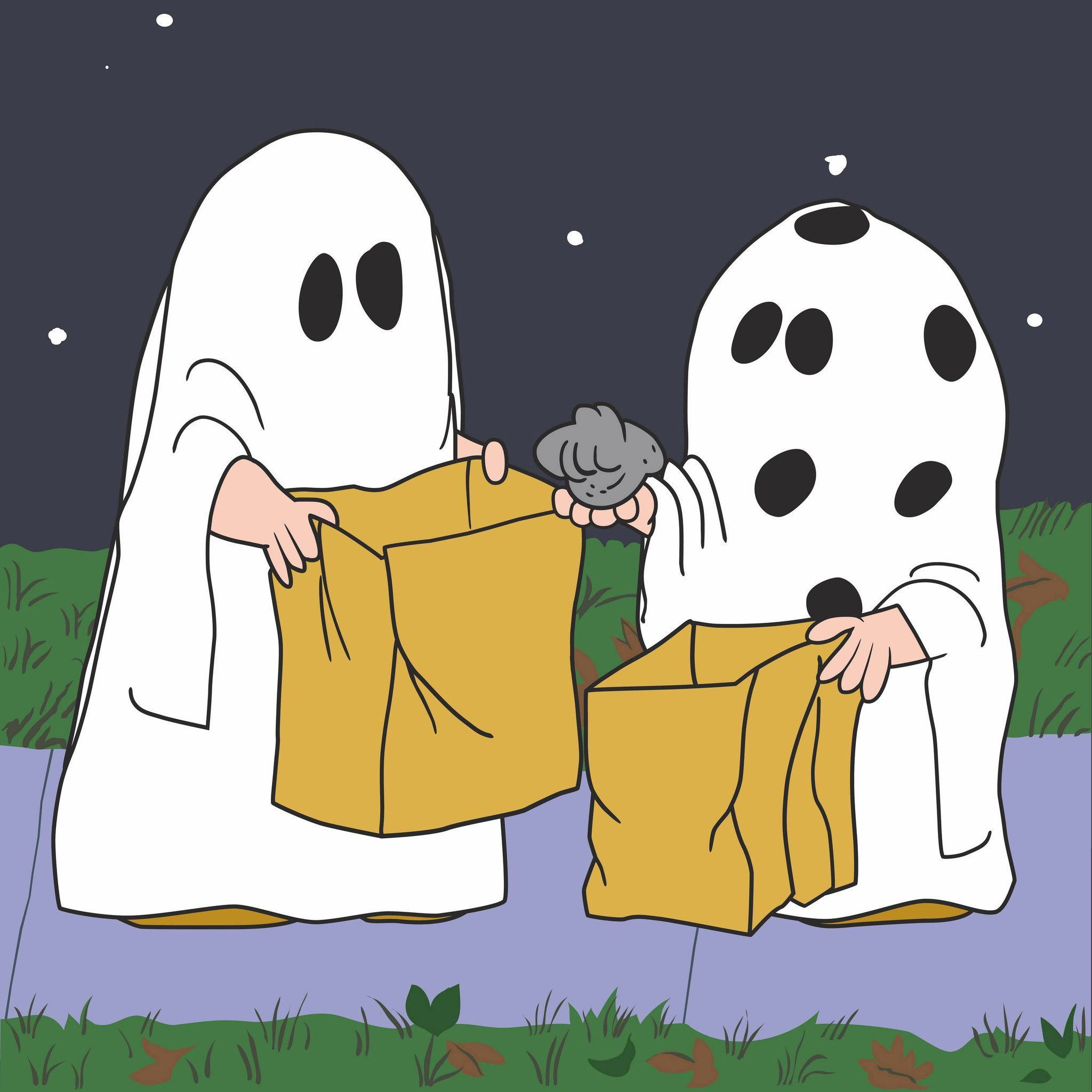 Peanuts Ghost Snoopy Halloween Charlie Brown Halloween Great