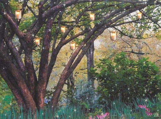 Enchanted Woods LED Canvas
