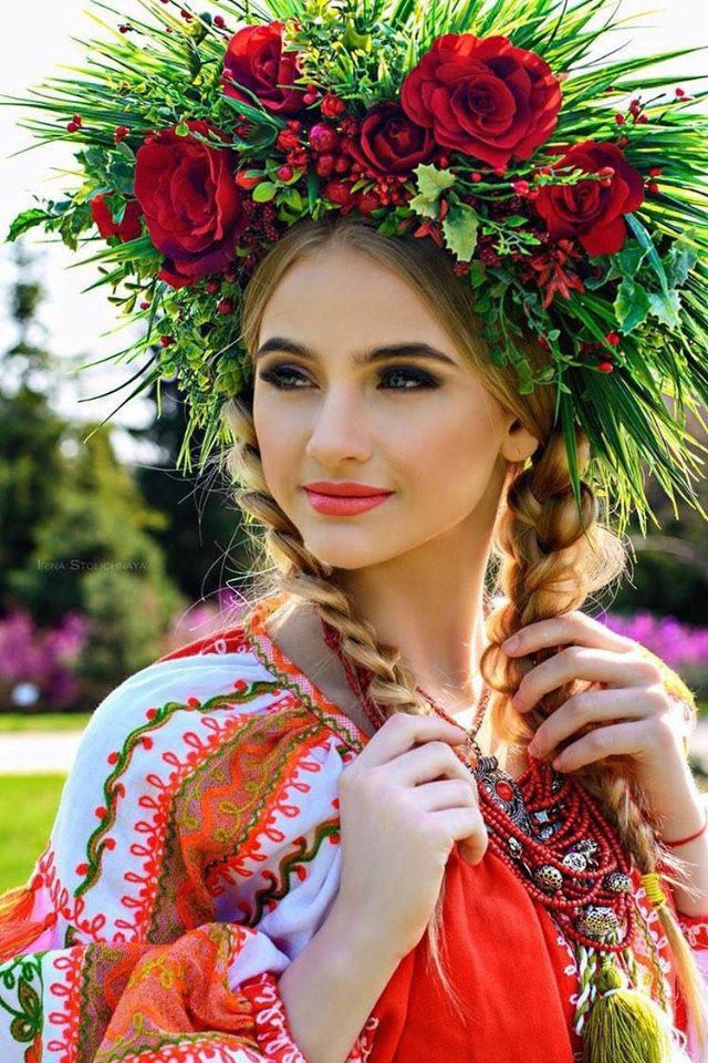 фотосессия украинской девушки викулы что