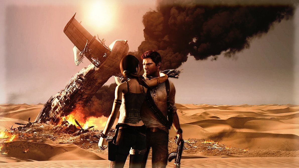 Lara Croft Tomb Raider Nathan Drake Uncharted By