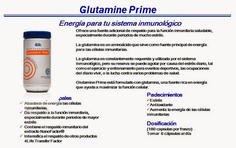 4LIFE: GLUTAMINE PRIME