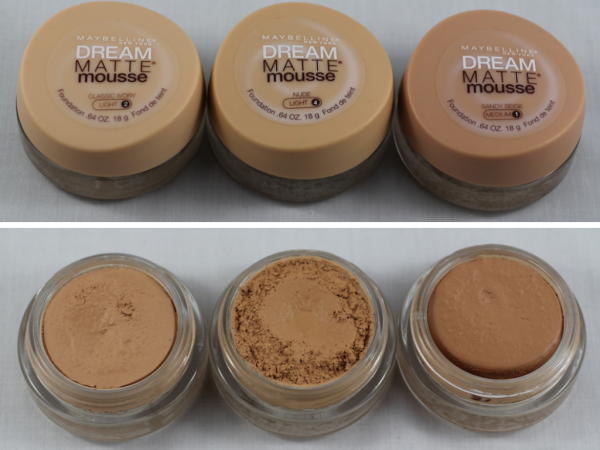 Maybelline New York Dream Matte Mousse Foundation Review Swatches