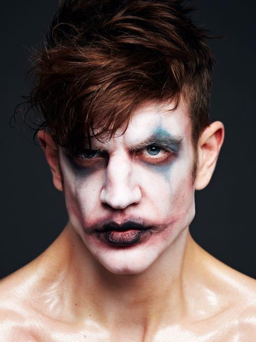 Fantasy Halloween Theatrical Character Costume Makeup Men - maquillaje de vampiro hombre