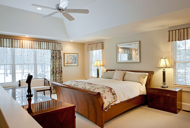Floor Plans For Master Bedroom Additions Master Bedroom Addition With Tray Ceiling In Groton