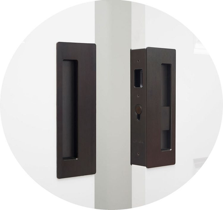 Cavilock Cl400d Magnetic Privacy Pocket Door Lock For Bi Parting