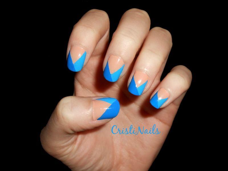 diseños de uñas faciles y rapidoss | nail art | Pinterest | Diseños ...