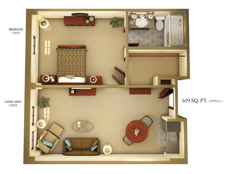 Open Concept In Law Suite Floor Plans Addition With Loft